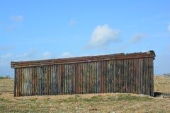 Metallhütte lizenzfreies stockfoto