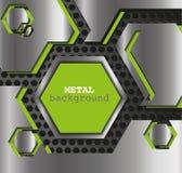 Metallhintergrund Vektor Abbildung