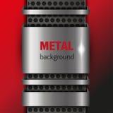 Metallhintergrund Lizenzfreie Abbildung