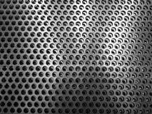 Metallhintergrund mit Maschenbeschaffenheit Abstrakte metallische Mustertapete lizenzfreies stockbild