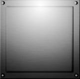 Metallhintergrund oder Stahlbeschaffenheit Lizenzfreie Stockfotografie