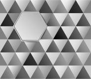 Metallhintergrunddiamanten Lizenzfreie Stockfotografie