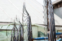 Metallhjul Arkivbilder
