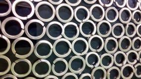 Metallic†‹cirklar Royaltyfri Foto