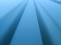Metallic abstract. Abstract view of a metallic wall Stock Photography