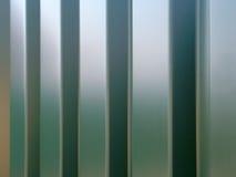 Metallic abstract. Abstract view of a metallic wall Stock Photos