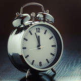 Metallic Alarm clock Stock Photos