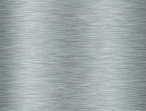 Metallic aluminium texture Stock Photos