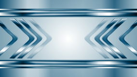 Metallic arrows moving towards each other stock footage