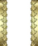 Metallic Art Deco Frame Royalty Free Stock Images