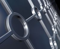 Metallic background. Metallic structure background. 3D image royalty free illustration