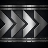 Metallic background Royalty Free Stock Photos