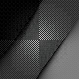 Metallic background with carbon texture Stock Images