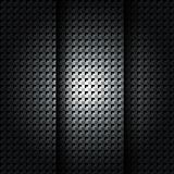 Metallic background with carbon texture Stock Image