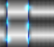 Metallic background. Metallic or chrome abstract background vector illustration stock illustration