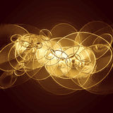 Metallic background with circles. Abstract metallic background with circles Royalty Free Stock Images
