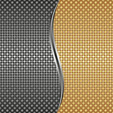 Metallic background Royalty Free Stock Images