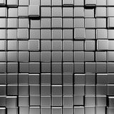 Metallic background. High quality 3d render Royalty Free Stock Image