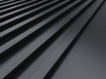 Metallic background with lines Stock Photo