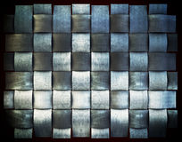 A metallic  background plate Stock Photos