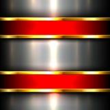 Metallic background Stock Images