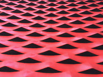 Metallic background in red Stock Image