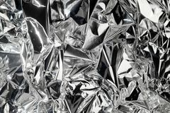 Metallic background contrast. Metallic background with silver shine contrast royalty free stock images