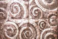 METALLIC BACKGROUND. With spiral shape Royalty Free Stock Images