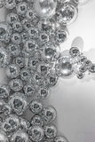 Metallic balls background Royalty Free Stock Photography