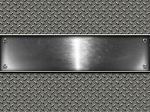 Metallic Banner Royalty Free Stock Image