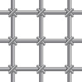 Metallic bars Royalty Free Stock Images