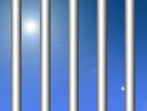 Metallic bars Royalty Free Stock Image