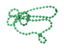 Metallic Beads Green Stock Image
