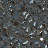 Metallic black ore Stock Photo