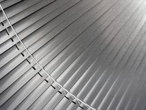 Metallic  blinds Royalty Free Stock Image