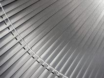 Metallic  blinds Royalty Free Stock Image
