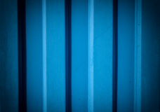 Metallic blue wall Royalty Free Stock Photo
