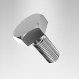 Metallic bolt Stock Images