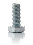 Metallic bolt with thread Royalty Free Stock Photography