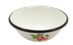 Metallic bowl Royalty Free Stock Photography