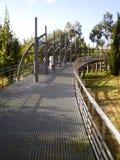 Metallic Bridge Stock Image