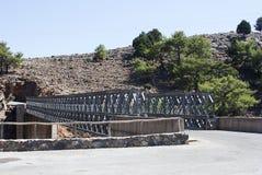 Metallic bridge Royalty Free Stock Image