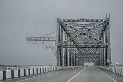 Metallic bridge Stock Photography