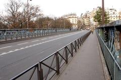Metallic bridge Stock Images