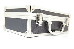 Metallic briefcase Royalty Free Stock Photo