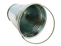 Metallic bucket Stock Photo