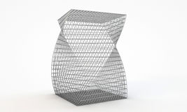 Metallic cage Stock Photography