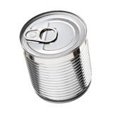Metallic can Royalty Free Stock Photos