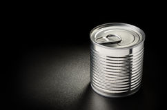 Metallic can Royalty Free Stock Photography