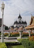 Metallic Castle In Bangkok, Thailand Royalty Free Stock Photo